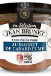 Jean Brunet Pork terrine with smoked duck breast without coloring 180g