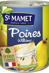 St Mamet Williams pears in syrup 850g - Mon Panier Latin