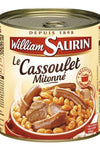 WILLIAM SAURIN - Cooked dish cassoulet simmered 840g - Mon Panier Latin