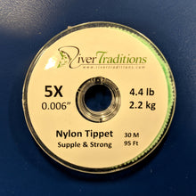 Load image into Gallery viewer, Nylon Tippet (3) Spools 4X, 5X and 6X