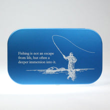 Load image into Gallery viewer, Personalized Aluminum Fly Box with Foam Insert
