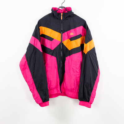 Nike Track Jacket pink schwarz orange M