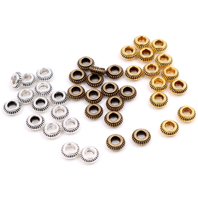 Metal Beads Spacers 5mm Wholesale (50pcs)