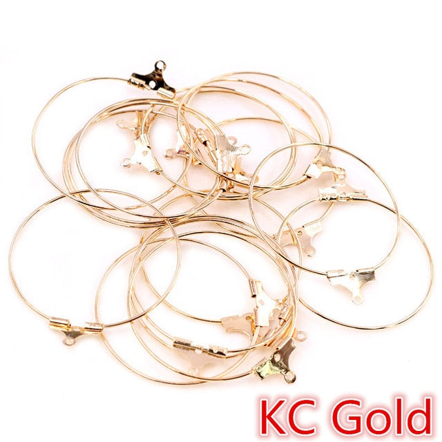 Hoop Earrings Wholesale (30pcs)