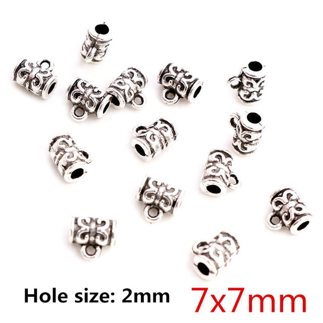 Beads Bails Connectors 7x7mm Wholesale (20pcs)