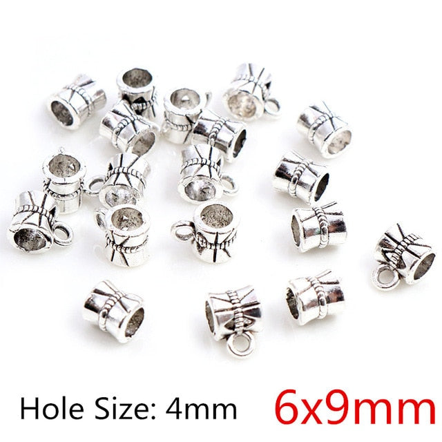 Beads Bails Connectors 6x9mm Wholesale (20pcs)