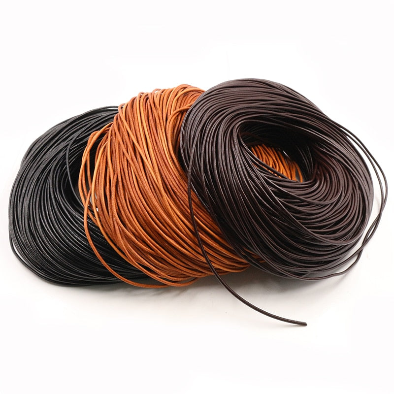 Genuine Cow Leather Cord, Wholesale