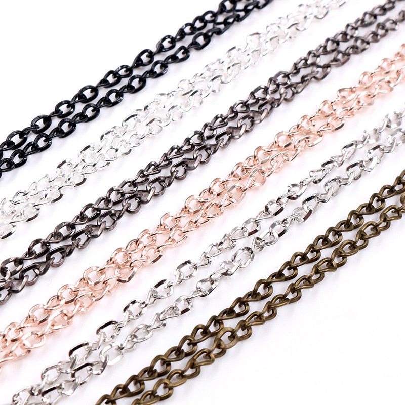 Chain Necklace With Lobster Clasp 70cm Long Wholesale (5pcs)
