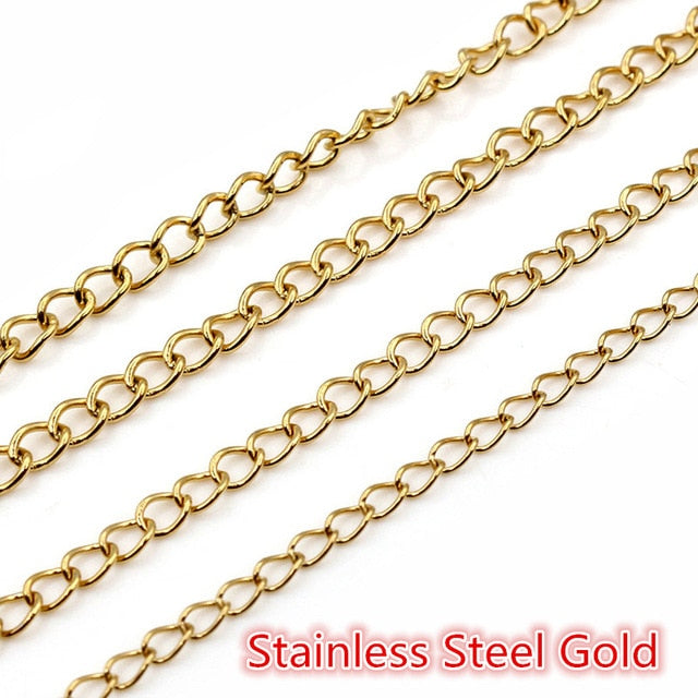 Stainless Steel Bulk Chain Wholesale (5meters)