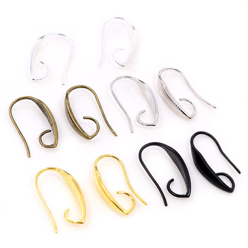 Earring Hooks 20x11mm Wholesale (10pcs)