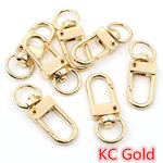 Snap Lobster Clasp Hooks Keychain 33x13mm Wholesale (10pcs)