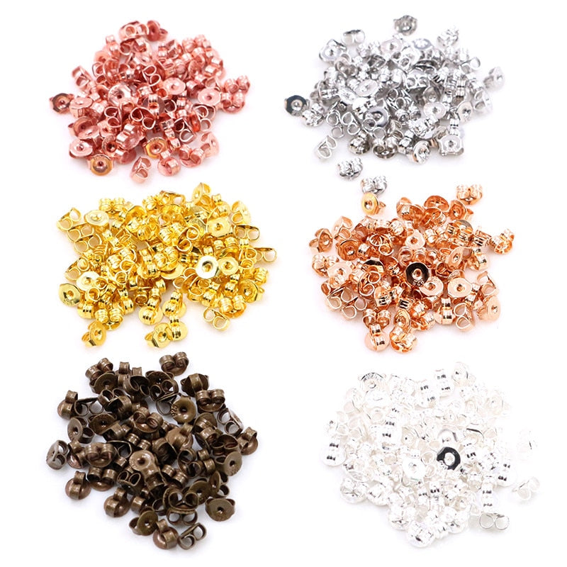 Earrings Backs Plugs Ear Studs Stoppers Wholesale (200pcs)