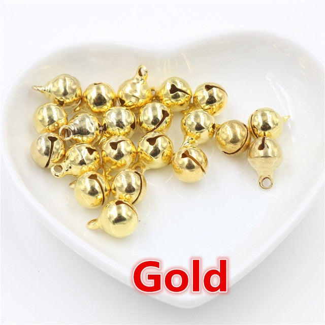 Bells Findings 6mm, 8mm, 10mm, 12mm, 14mm, Wholesale (30pcs)
