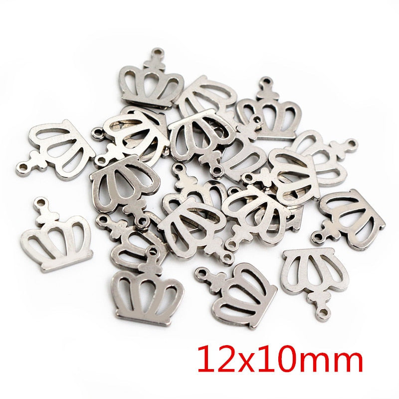Stainless Steel Mixed Charms, Wholesale (30pcs)