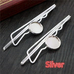 Hairpin Blank Base Setting Cabochon, Fit 12mm, Wholesale (10pcs)