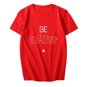 BTS: BE LYRIC T-SHIRT