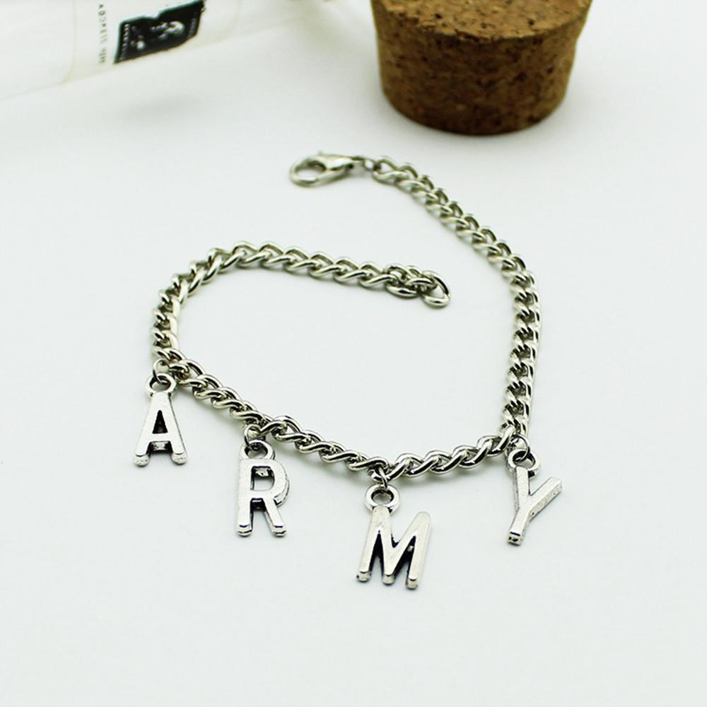 ARMY Charm Bracelet - BTS accessories