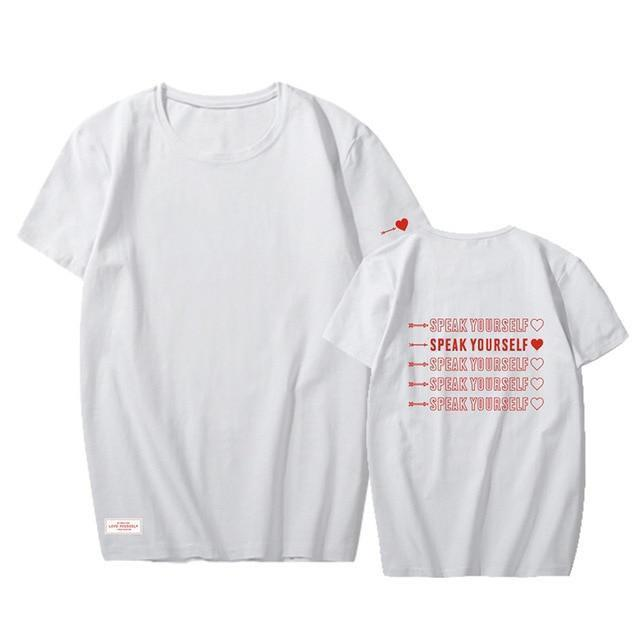 Speak Yourself Concert Tees - BTS clothing