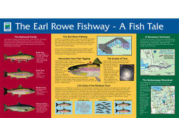 Sign-Earl Rowe Fishway