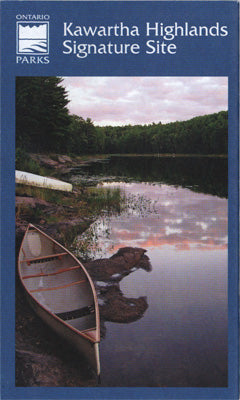 Kawartha Highlands Provincial Park Planning Map (OM0104)