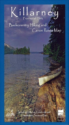 Killarney Provincial Park Planning Map (OM0110)