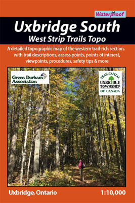 Uxbridge South Trails - West Topo Strip (OM0028)
