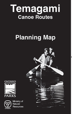 Temagami Canoe Routes Planning Map (OM8840)