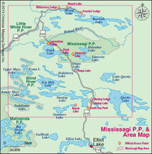 Load image into Gallery viewer, Mississagi Provincial Park & Area (AM0850)