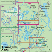 Load image into Gallery viewer, Temagami 2 - Lake Temagami & Area (AM0788)