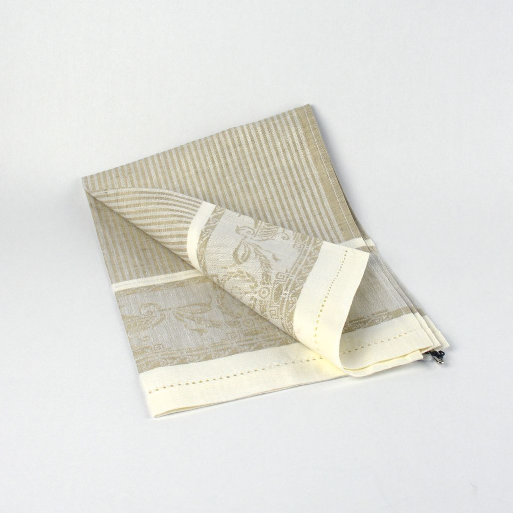 Striped Decorative Tea Towel