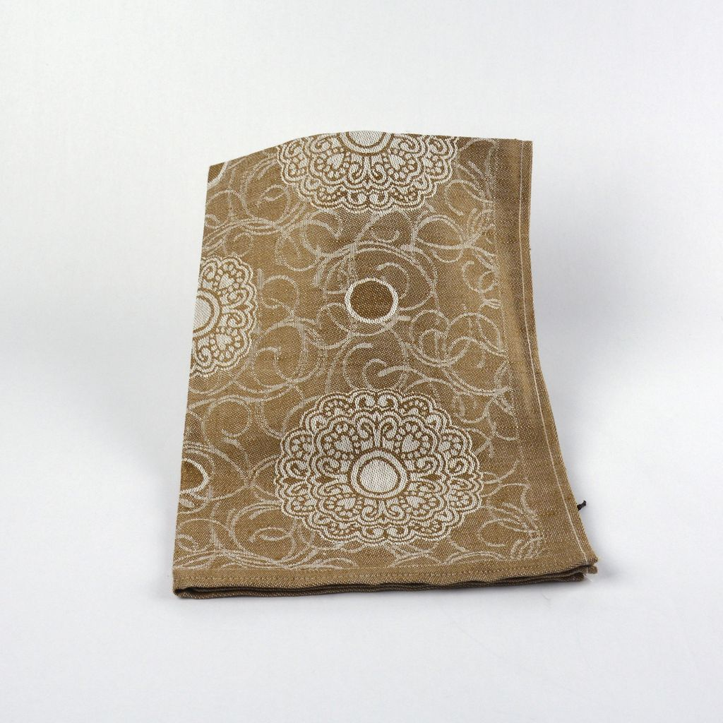 Brown Mandala Tea Towel
