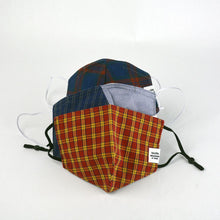 Load image into Gallery viewer, Plaid Fabric Face Masks - Mystery Bag