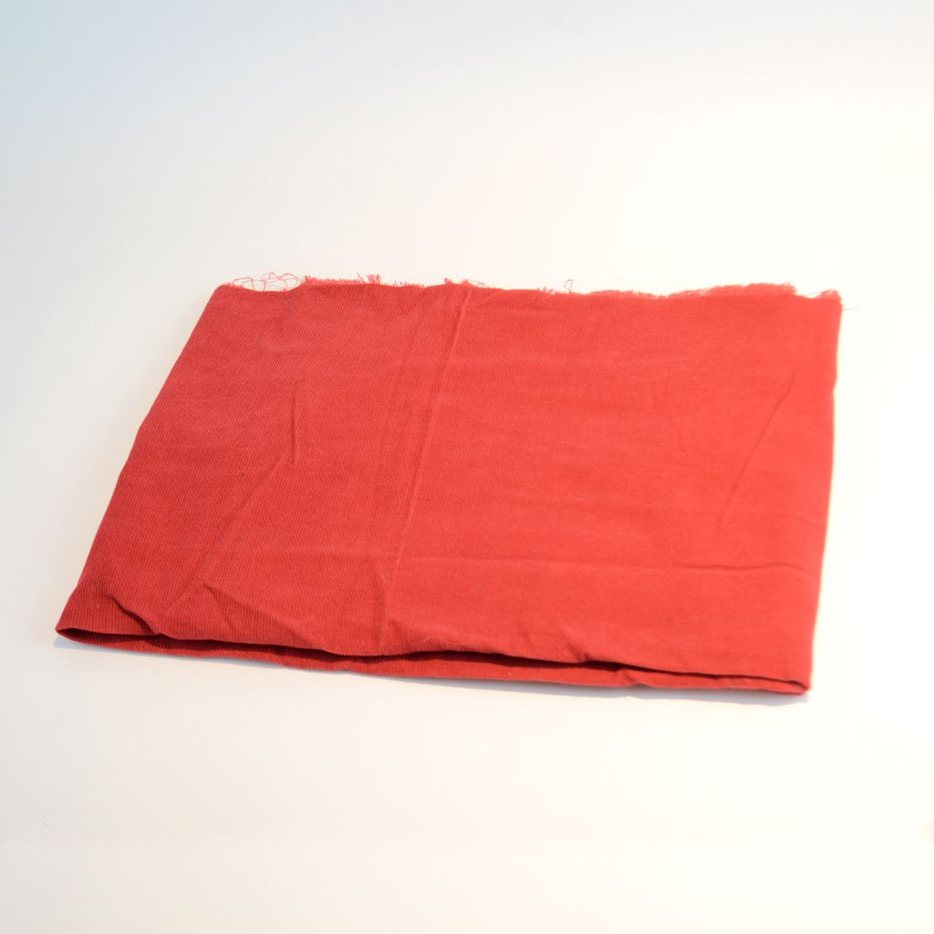 Midweight Corduroy Fabric - Red