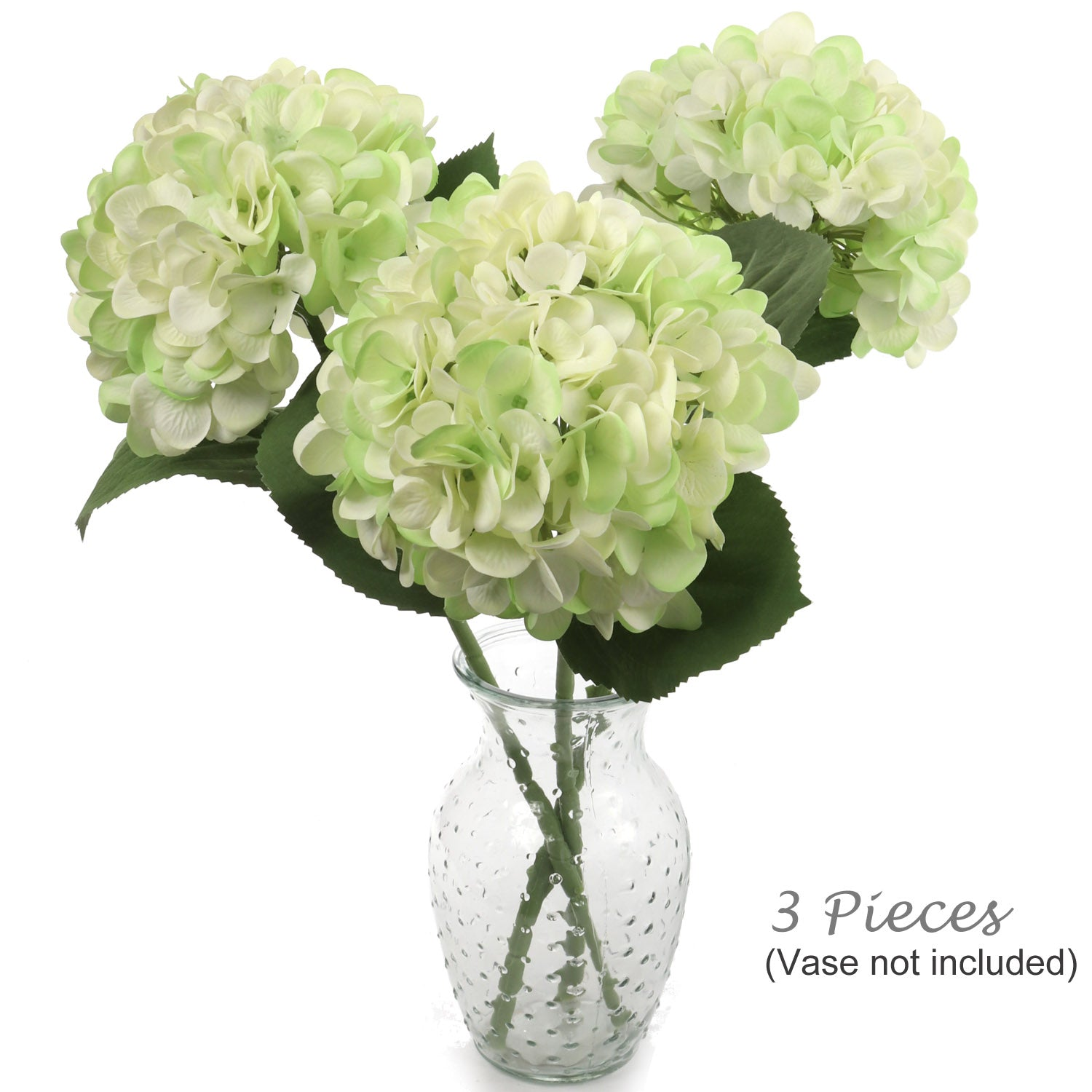 "18"" Hydrangea Stem w 7"" Diameter (Pack of 3)"