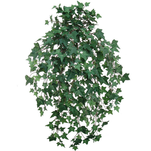 "Green Ivy Artificial Plant 33"" Hanging w/ 533 Leaves"