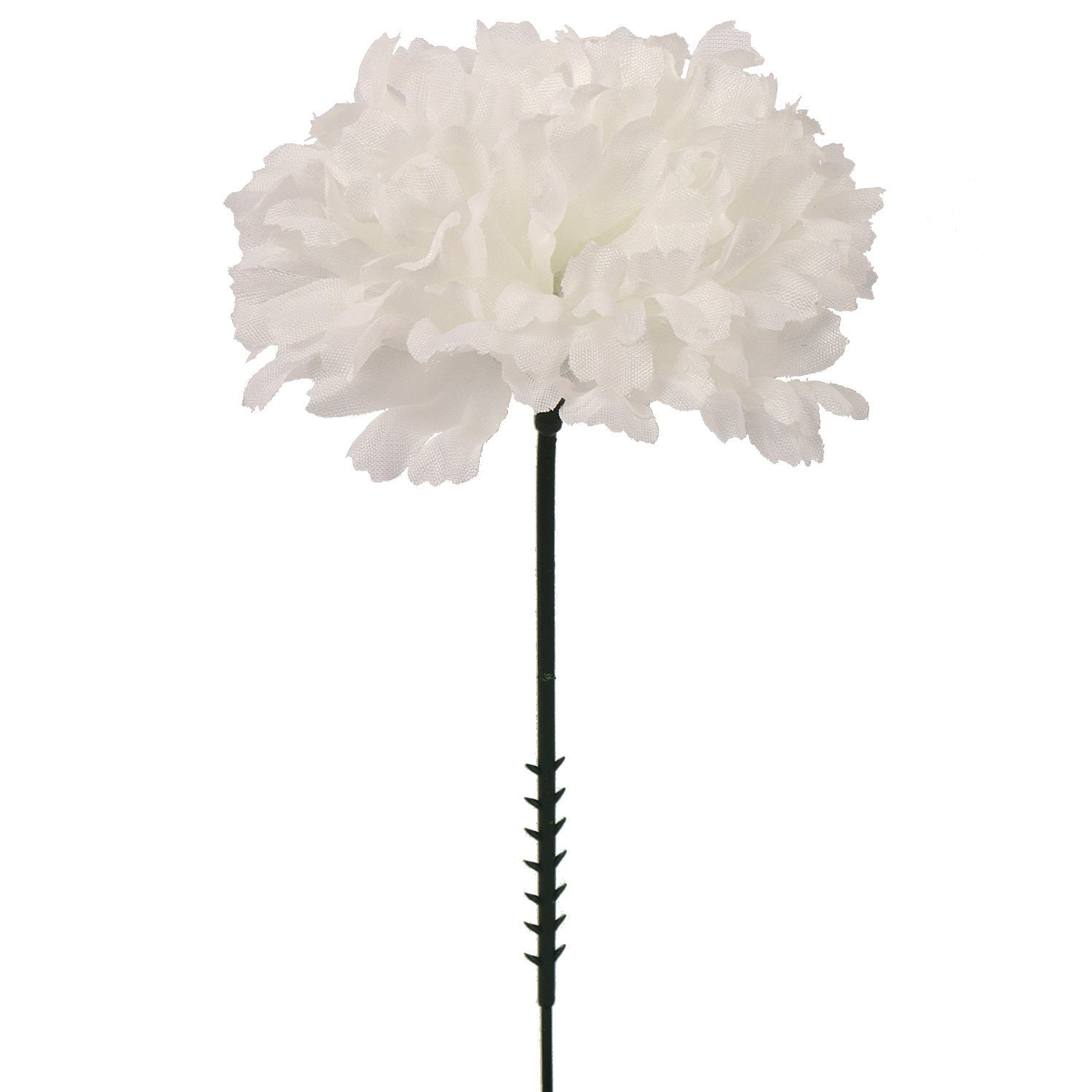 "Carnation Pick Candlewhite Color 7"" Long 3.5"" Wide (100Pack)"