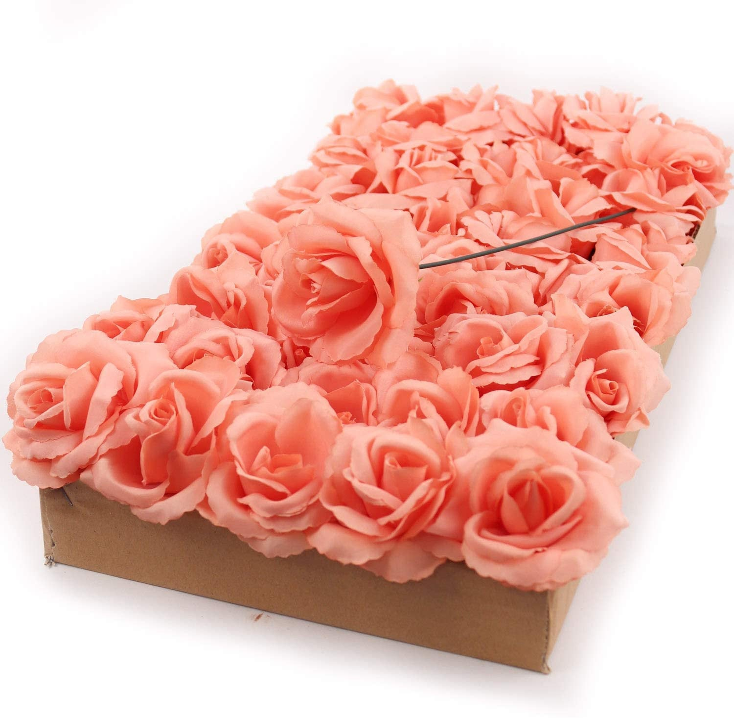 "Peach Rose Pick 8"" Long 3"" Wide Box of 50"