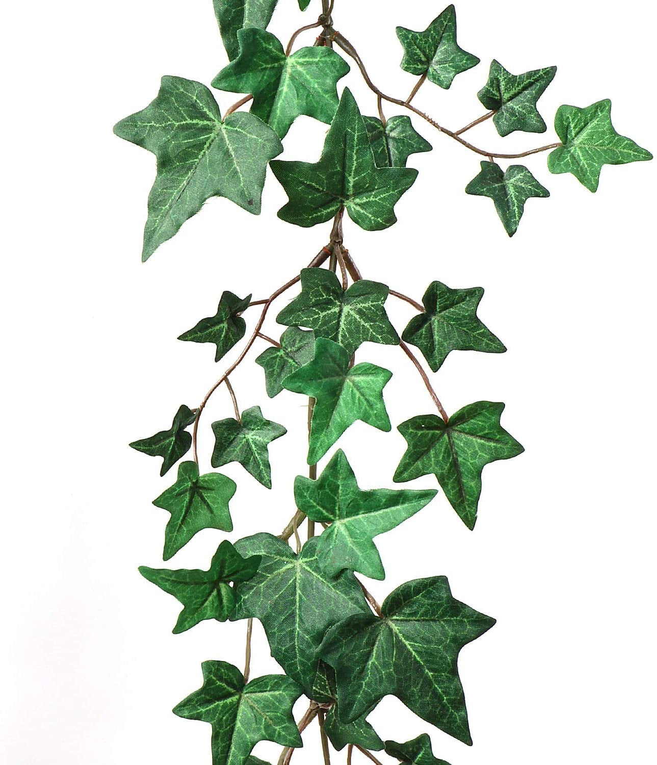 Green  Artificial 6 Foot Ivy Garland w/ 185 Leaves