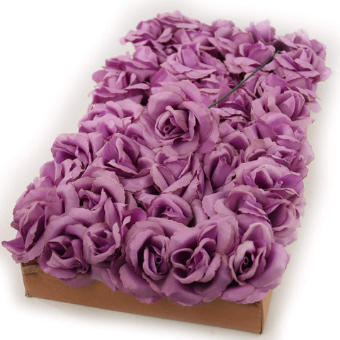 "Lilac Color Rose Pick 8"" Long 3"" Wide Box of 50"