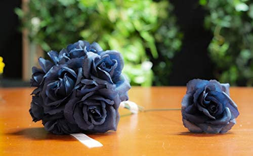 "Navy Blue Rose Pick 8"" Long 3"" Wide Box of 50"