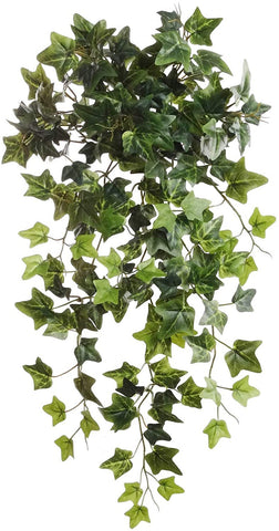 "Green Ivy Artificial Plant 19"" Hanging w 204 Leaves"