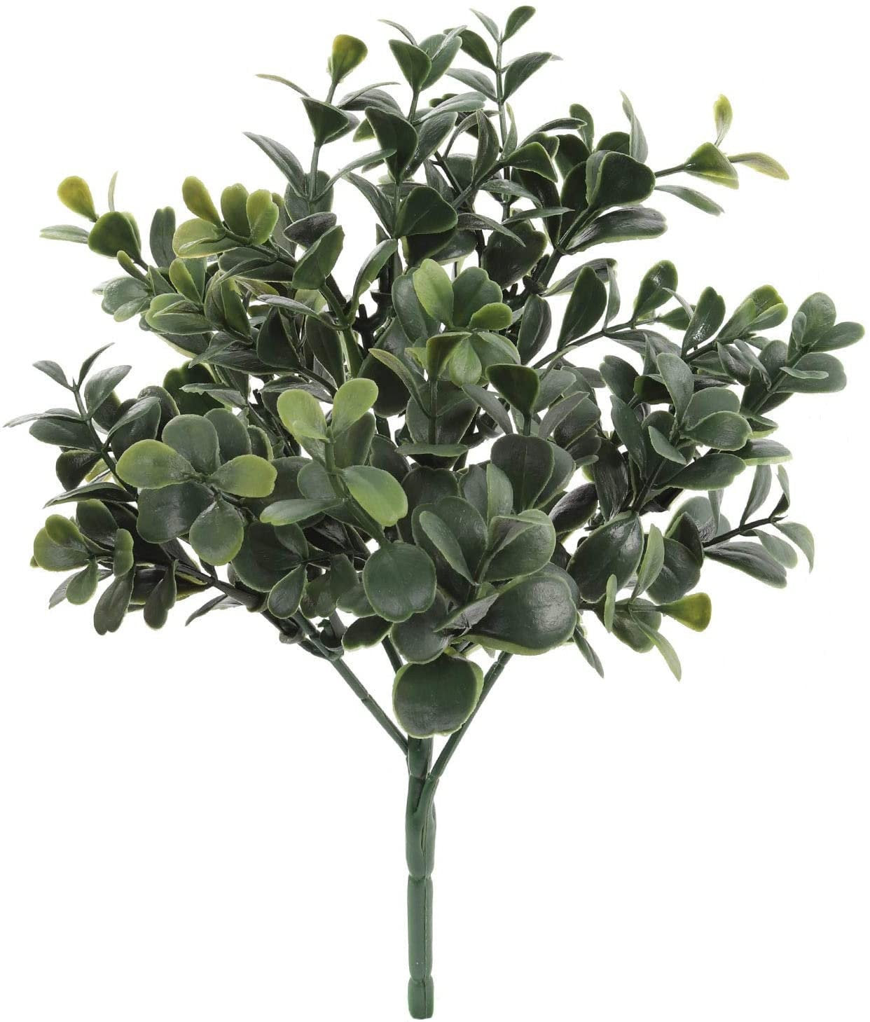 Dark Green Boxwood Pick 10""