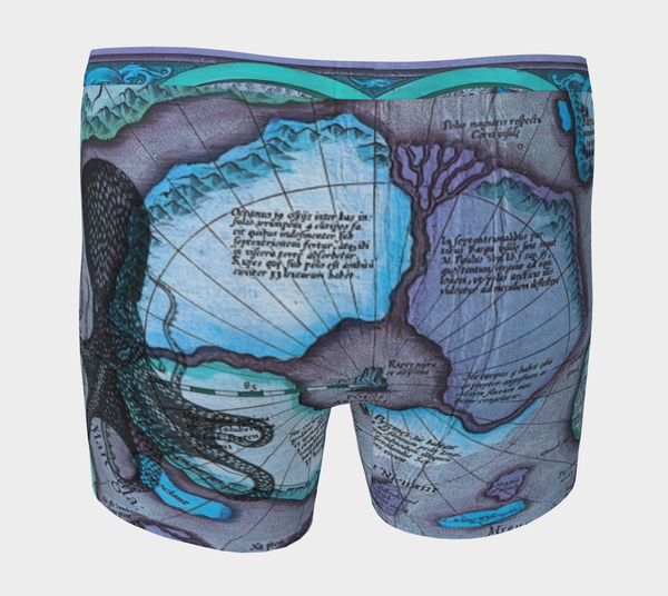 Ocean Lovers Octopus Boxer Briefs Shorts