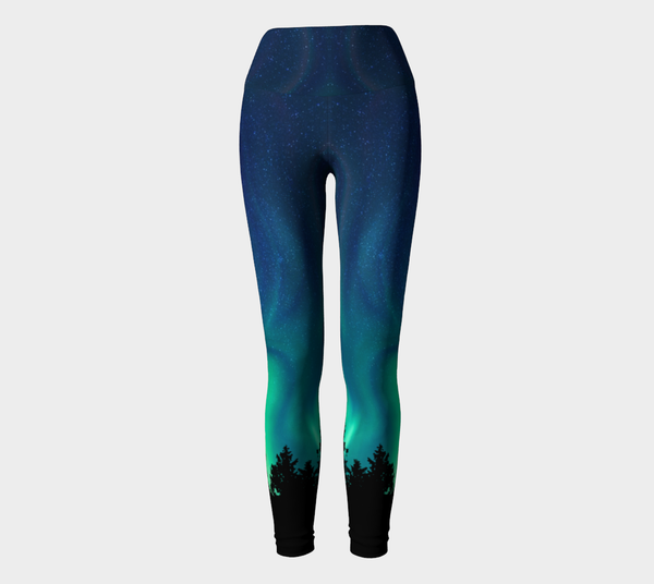 Northern Lights Sky Yoga Pants Leggings