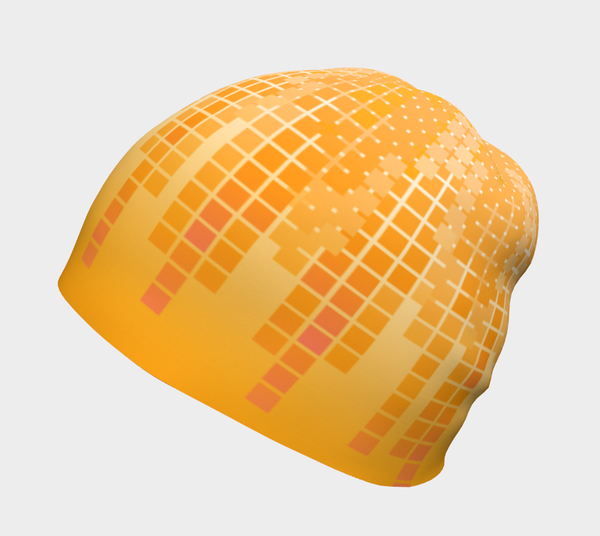 Orange Creamscicle Bamboo Lined Beanie