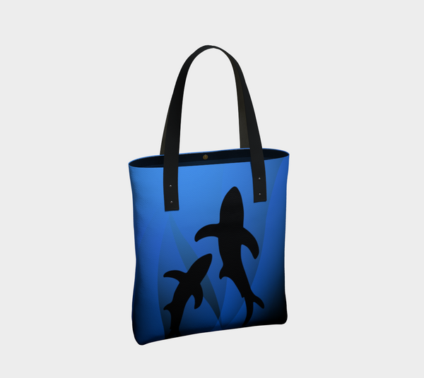 Ocean Lovers Shark Tote Bag