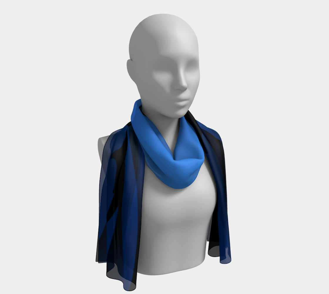 Ocean Lovers Sharky Scarf