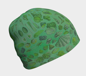 Ocean Lovers Sea Shell Beanie Bamboo Lined Hat