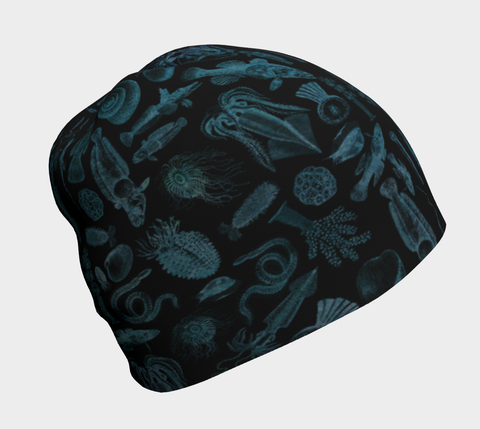 Ocean Lovers Night Dive Bamboo Beanie
