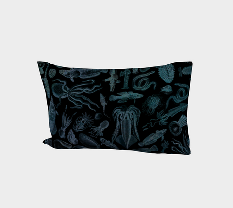 Ocean Lovers Night Dive Pillow Case Standard or King